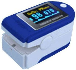Fingertip pulse oximeter / compact Life Plus Medical