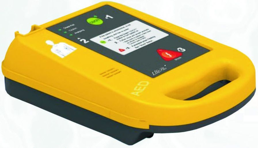 Semi-automatic external defibrillator 200 J - LPM-401 Life Plus Medical