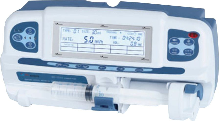 1 channel syringe pump LPM - 50D Life Plus Medical