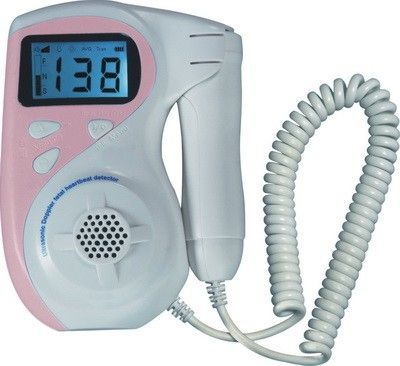Fetal doppler / pocket / with heart rate monitor FHR Life Plus Medical