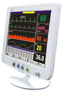 Compact multi-parameter monitor Life Plus Medical