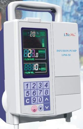 Volumetric infusion pump / 1 channel LPM - 50 Life Plus Medical