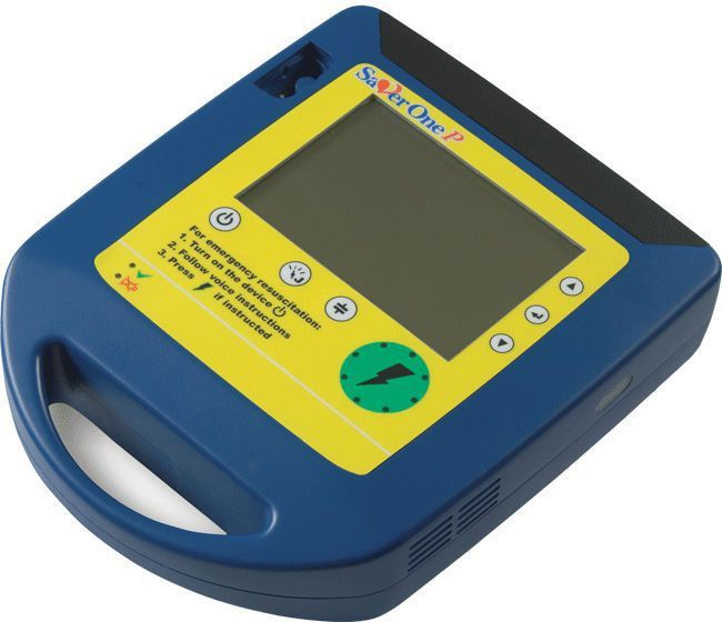 Semi-automatic external defibrillator / with ECG monitor 200 - 360 J | Saver One P A.M.I. ITALIA