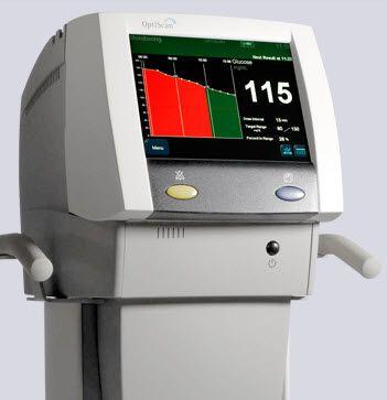 Invasive blood glucose meter / continuous OptiScanner Optiscan Corp