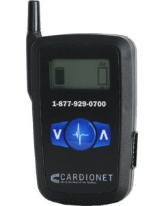 Hand-held alert system / cardiac Wireless CardioNet