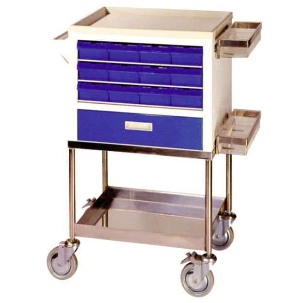 Multi-function trolley / with drawer / 1-tray JA-101 Joson-care Enterprise Co., Ltd.