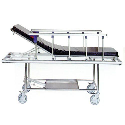 Trauma stretcher trolley / emergency / mechanical / 2-section JE-100 Joson-care Enterprise Co., Ltd.