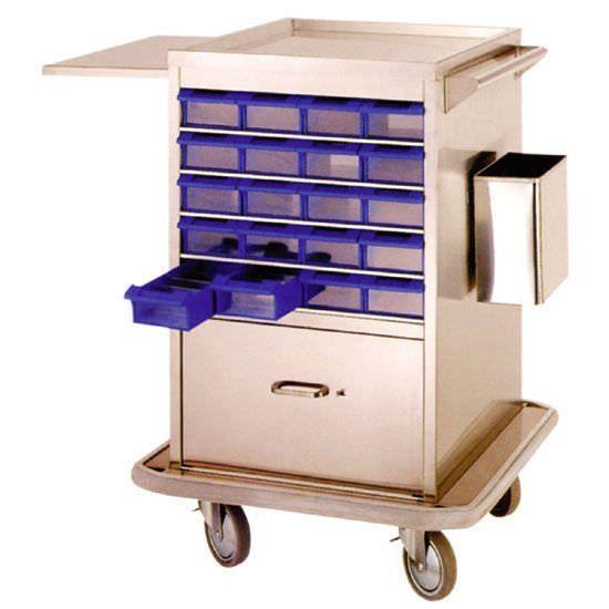 Medicine distribution trolley / 35 to 44 container JP-020 Joson-care Enterprise Co., Ltd.
