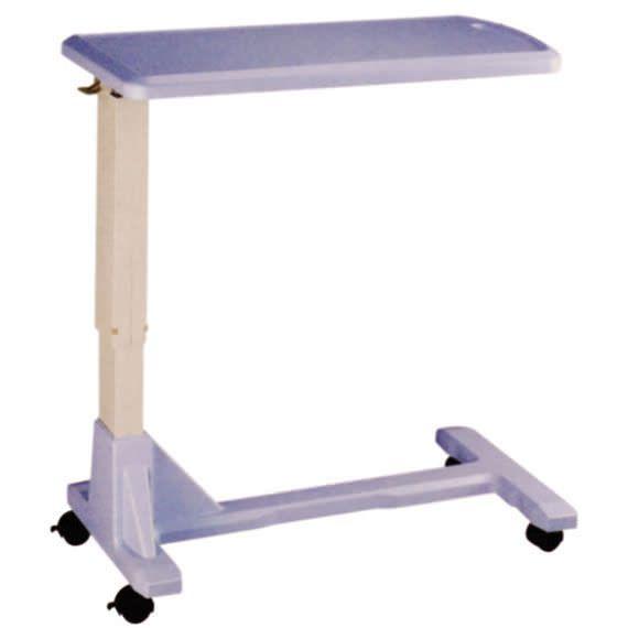 Height-adjustable overbed table / on casters JR-021 Joson-care Enterprise Co., Ltd.