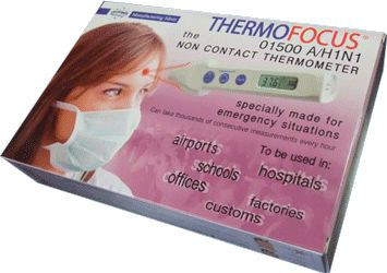 Medical thermometer / electronic THERMOFOCUS® 01500A/H1N1 TECNIMED