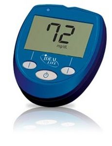 Wireless blood glucose meter Gluco Manager™ Ideal Life