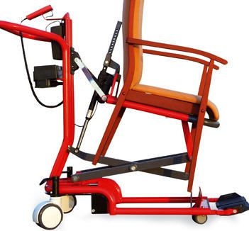 Electric trolley for chair transfer stoeltaxi® Beagle Mobility
