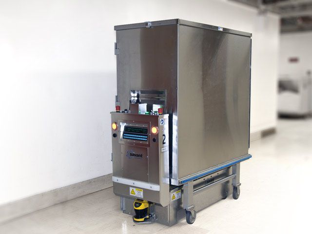 Automated guided vehicle Savant Automation