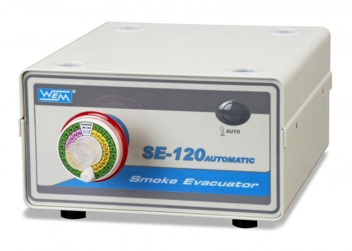 Smoke evacuation system for electrosurgical units SE-120 AUTOMATIC WEM