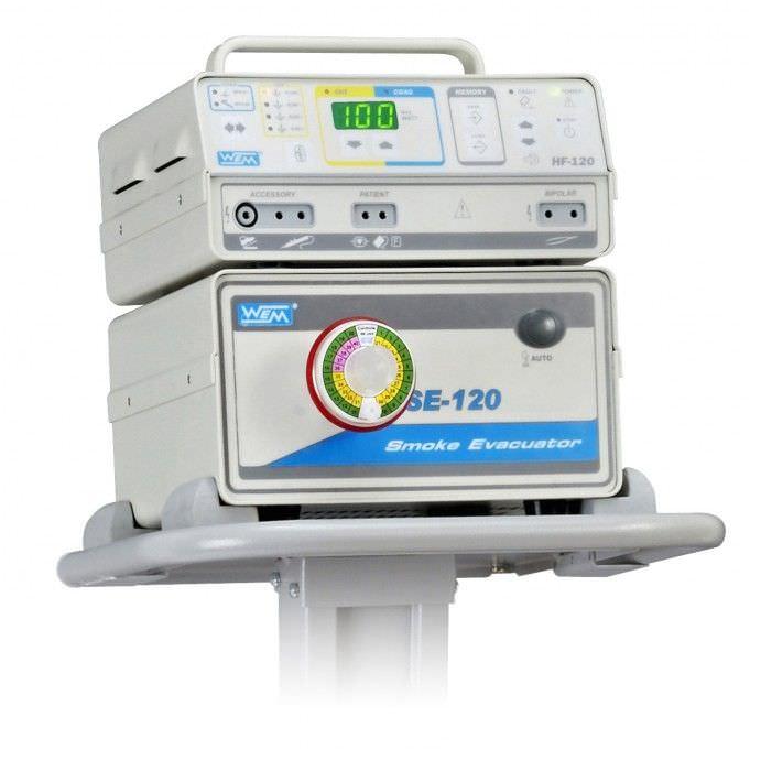 Smoke evacuation system for electrosurgical units SE-120 WEM