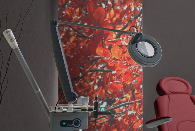 Magnifying examination lamp De Luxe TITAN PLUS Gharieni