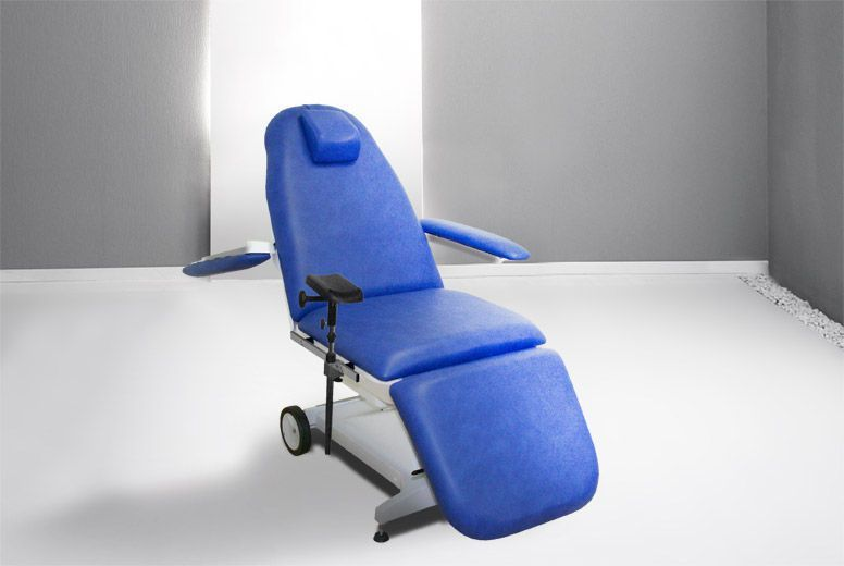 Pneumatic blood donor armchair Lina MED Gharieni