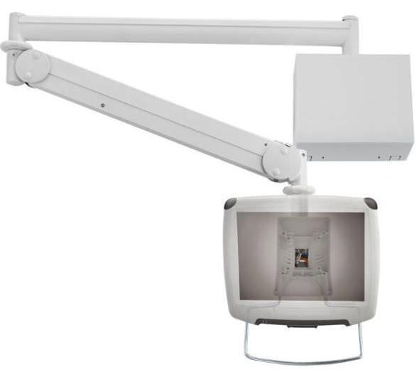 Medical monitor support arm / wall-mounted HA-236, HA-256 Modern Solid Industrial