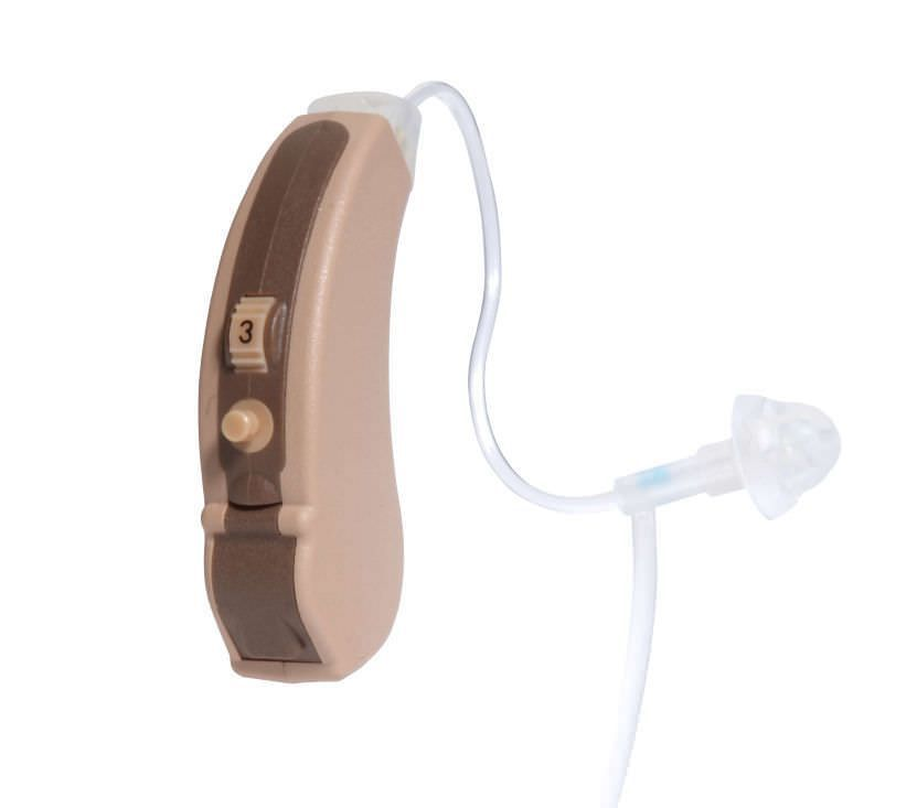 Behind the ear, hearing aid with ear tube Optima 32F Ear Teknik