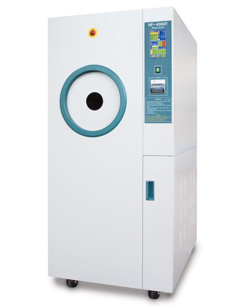 Medical sterilizer / ethylene oxide / front-loading / low-temperature 50 l   HP-4050T Hanshin Medical