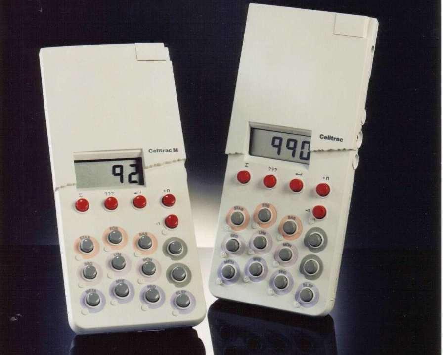 Digital blood cell counter / 12-key Celltrac KPG Products Ltd