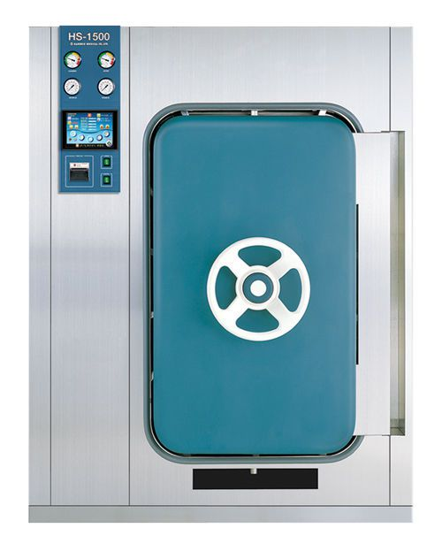 Medical autoclave / with steam generator 1500 l | HS-1500 Hanshin Medical