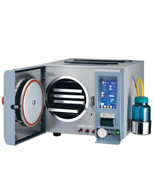 Medical autoclave / bench-top / programmable 19 l | HS-2519BTJ Hanshin Medical
