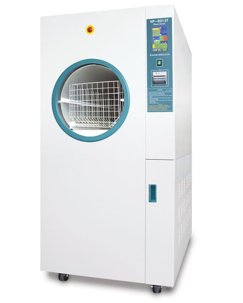 Medical sterilizer / ethylene oxide / front-loading / low-temperature 120 l | HP-5012T Hanshin Medical