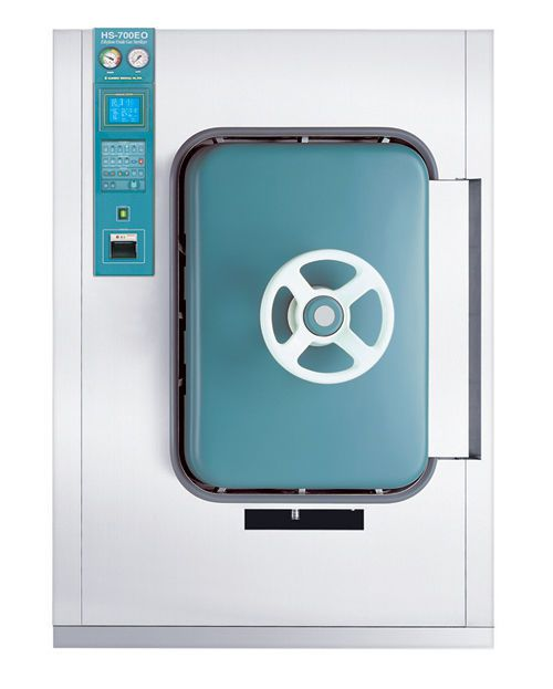 Medical sterilizer / ethylene oxide / front-loading / low-temperature 700 l | HS-700EO Hanshin Medical