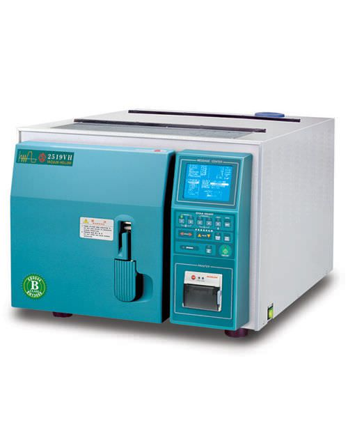 Medical autoclave / bench-top / programmable 19 l | HS-2519VH Hanshin Medical