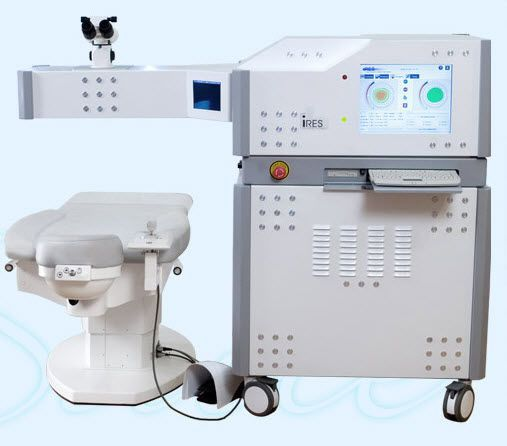 Ophtalmic refractive surgery laser / ophthalmic / excimer iRES™ iVIS Technologies