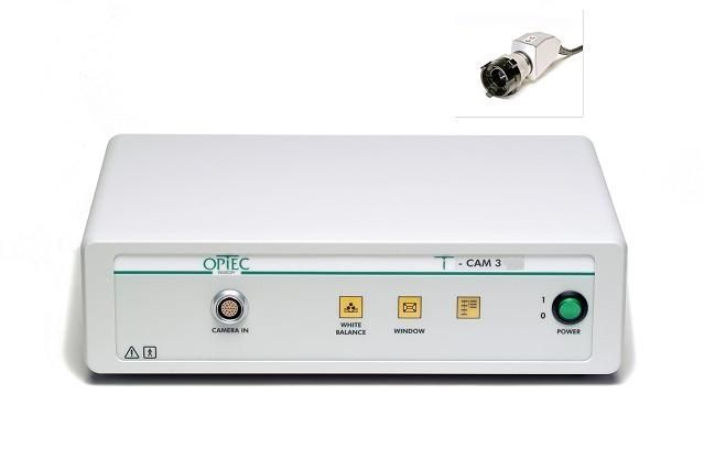 Digital camera head / endoscope / high-definition / with video processor T-CAM 3 OPTEC Endoscopy Systems GmbH