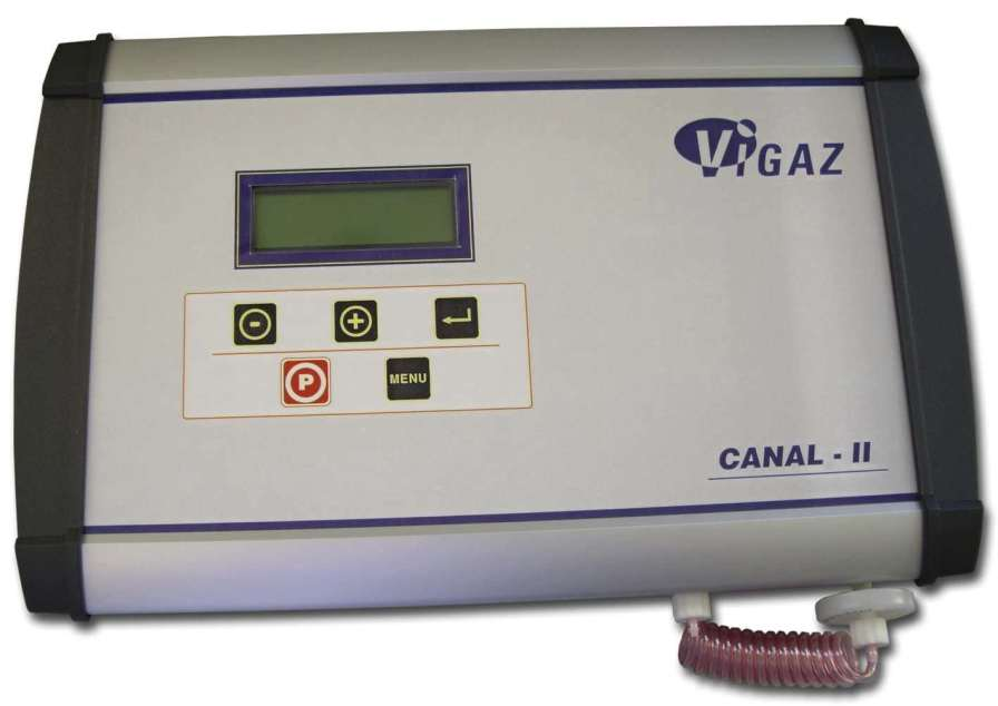 Oxygen and carbon dioxide analyzer for modified atmosphere packaging (MAP) 0.0 - 100% O2, 0.0 - 100% | CANAL100-120 II VIGAZ