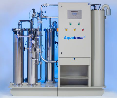 Reverse osmosis water treatment plant / hemodialysis 250 - 1600 L/h   Aquaboss® (Eco)RO Dia I+II - C Lauer Membran Wassertechnik