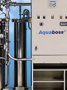Reverse osmosis water treatment plant / hemodialysis 210 - 700 L/h   Aquaboss® (Eco)RO Dia I + II Lauer Membran Wassertechnik