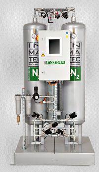 Nitrogen generator PSA / medical / nitrogen 95 - 99.99%, 5.70 - 1370.30 Nm3/h | IMT-PN PAN Inmatec GaseTechnologie