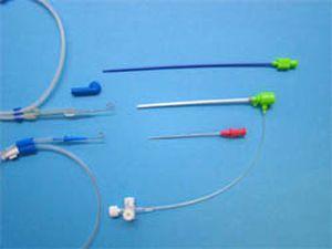 Introducer with hemostatic valve Medi Syst