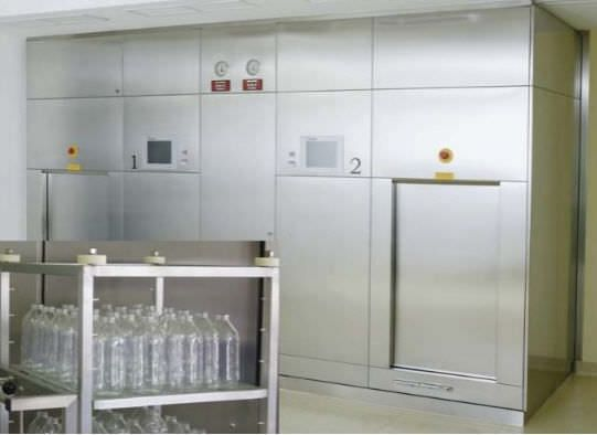 Medical autoclave / high-capacity LaboCERT F. & M. Lautenschläger