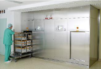 Medical autoclave / high-capacity DIN EN 285 | MagnoCERT F. & M. Lautenschläger