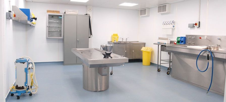 Modular mortuary ModuleCo Healthcare
