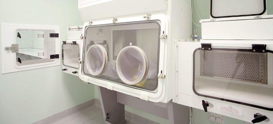 Laboratory room / modular ModuleCo Healthcare