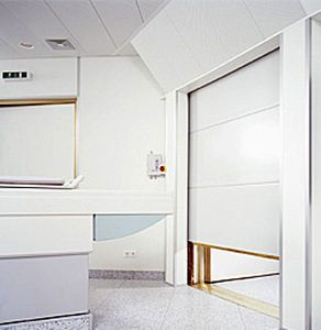 Roll-up door / for MRI / RF-shielded IMEDCO