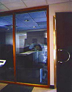 MRI window / viewing / RF-shielded Large IMEDCO