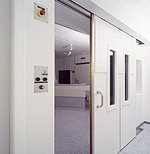 Sliding door / RF-shielded / for MRI IMEDCO