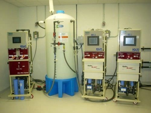 Hemodialysis water treatment plant / reverse osmosis / microfiltration Isopure