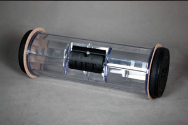 Carrier for hospital pneumatic tube system BULLNOSE AIR LINK