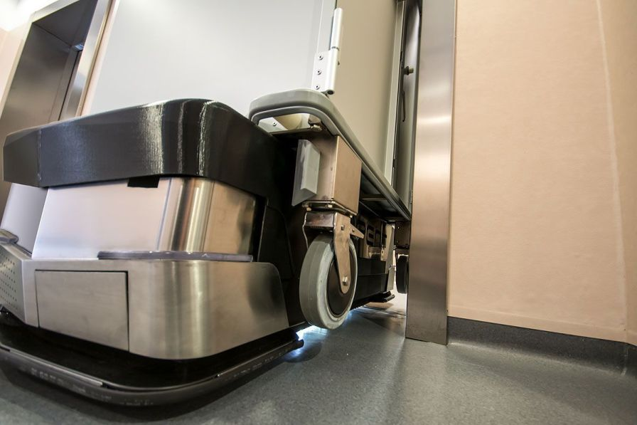 Hospital automated guided vehicle EVO™ Oppent