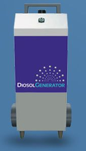 Healthcare facility disinfection system Diosol DIOP