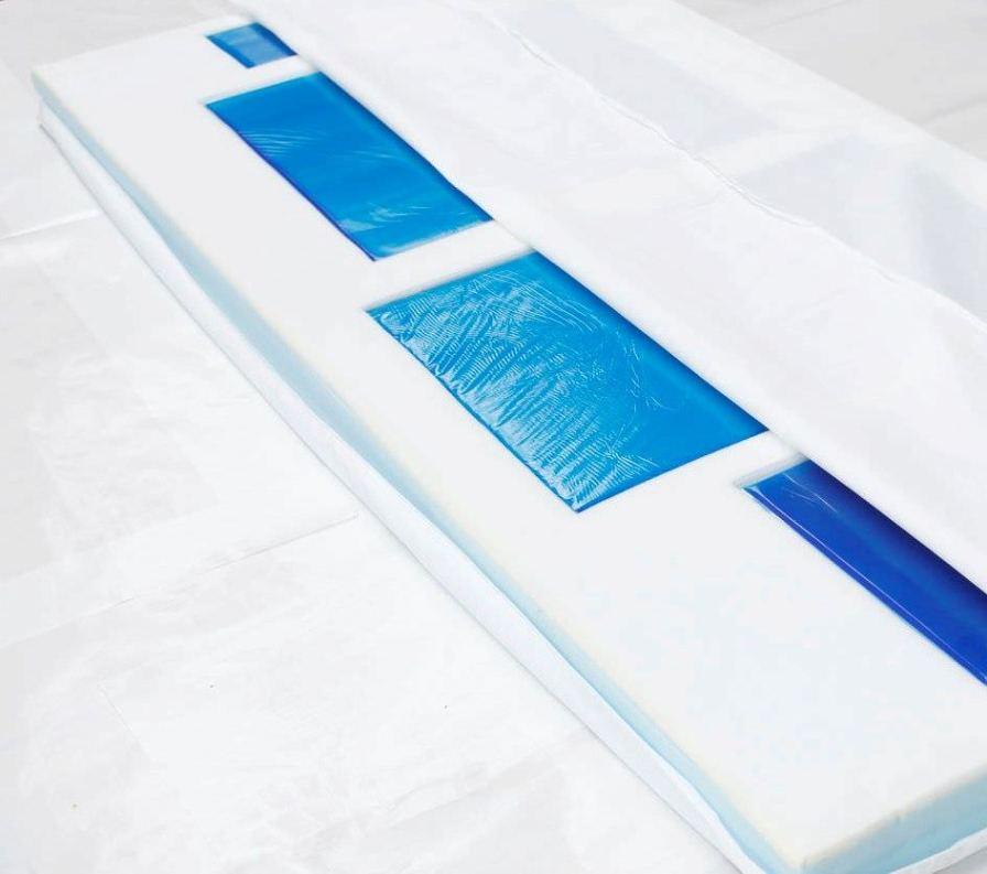 Hospital bed mattress / operating table 942009008, 942001008 GEL-A-MED