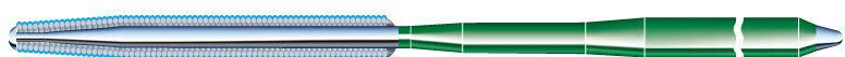 Catheter guidewire / small vessel / peripheral / hydrophilic Astato XS 20 Asahi Intecc Co Ltd